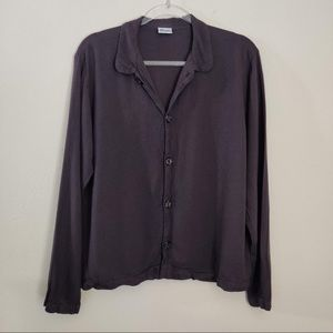 CP Shades Long Sleeve Textured Rayon Button Shirt